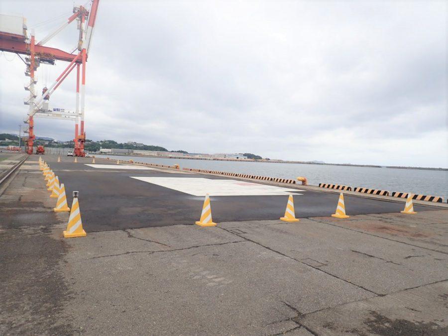 和歌山下津港本港地区岸壁(-13m)改良工事