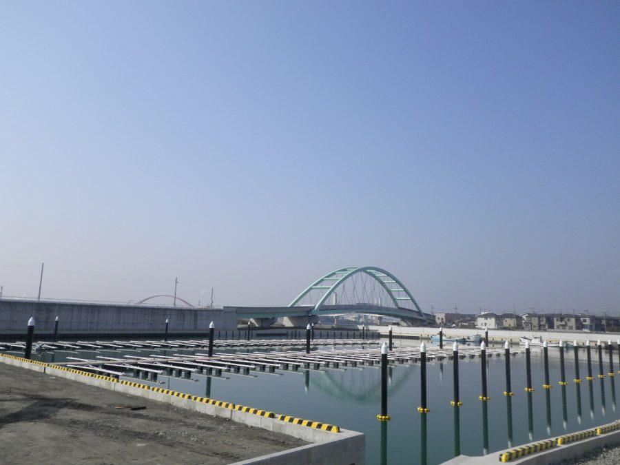 土入川河川整備工事